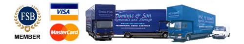 Dominic and Son Removal Lorry